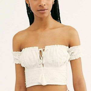 Free People Bound To The Music Off Shoulder Top M
